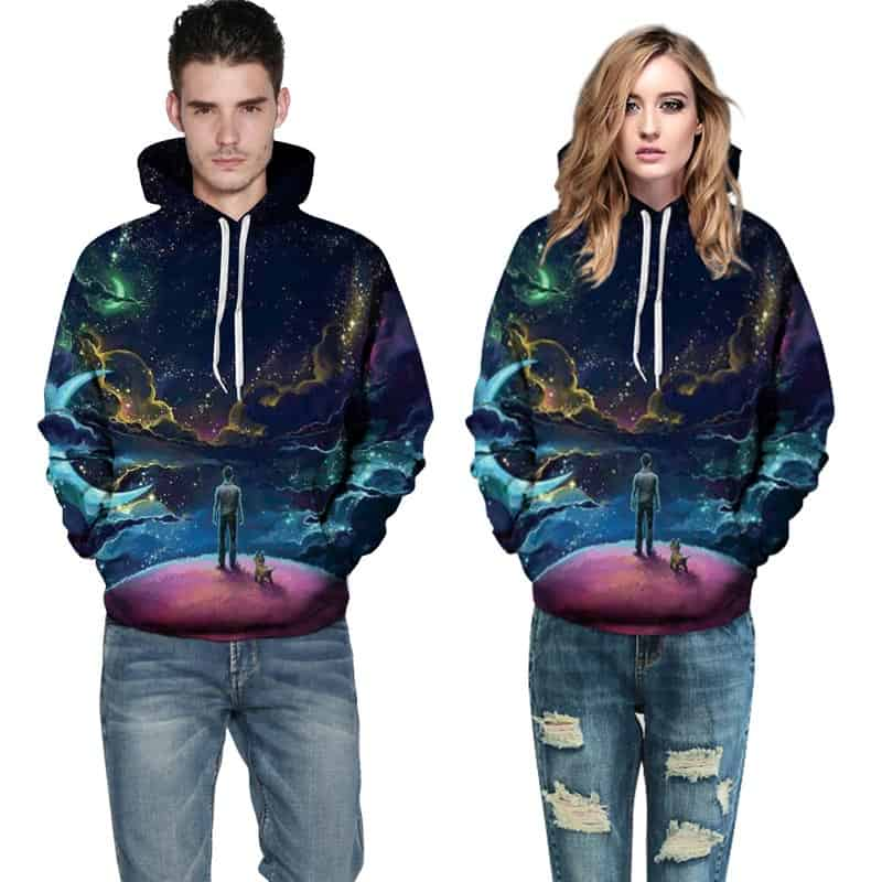 Etheral Dreams Hoodie Both Female and Male