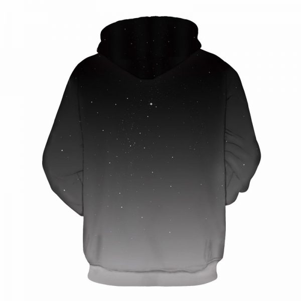 orange moon hoodie