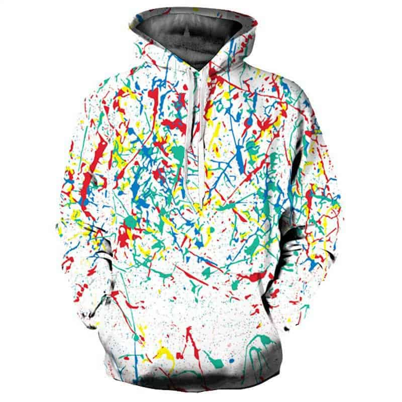 Chill Hoodies Art Attack Hoodie UK Franchise