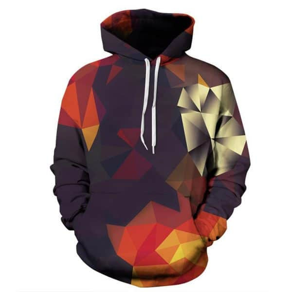 Chill Hoodies Autumn Geometry Hoodie Unisex Adult Sweatshirt