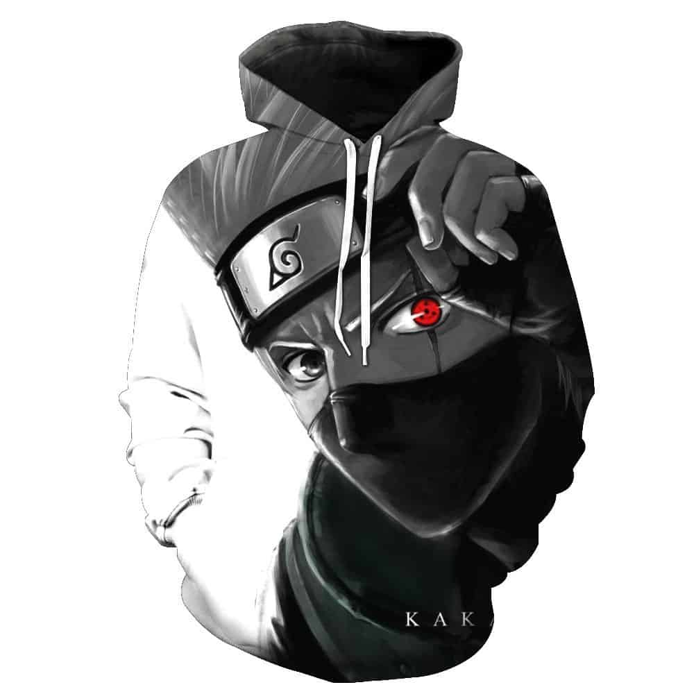 Chill Hoodies Kakashi Hatake Hoodie Naruto Unisex Adult Sweatshirt
