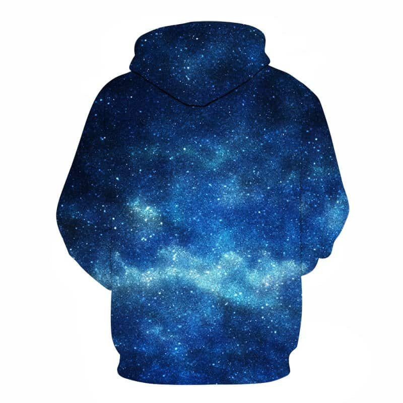 Chill Hoodies Sweatshirts Men Women Kids Adult Blue Nebula Hoodie 1