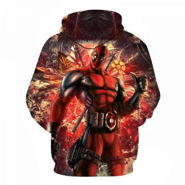 deadpool hoodie