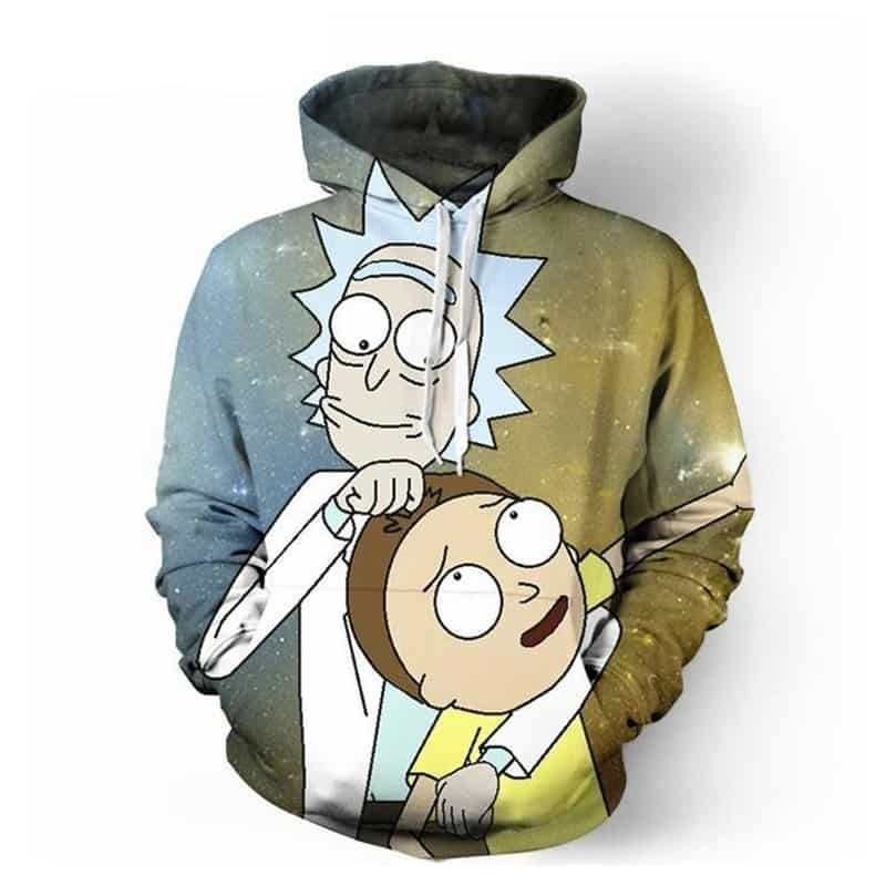 Chill Hoodies Rick and Morty Hoodie Netflix Comic Series Unisex Adult Sweatshirt