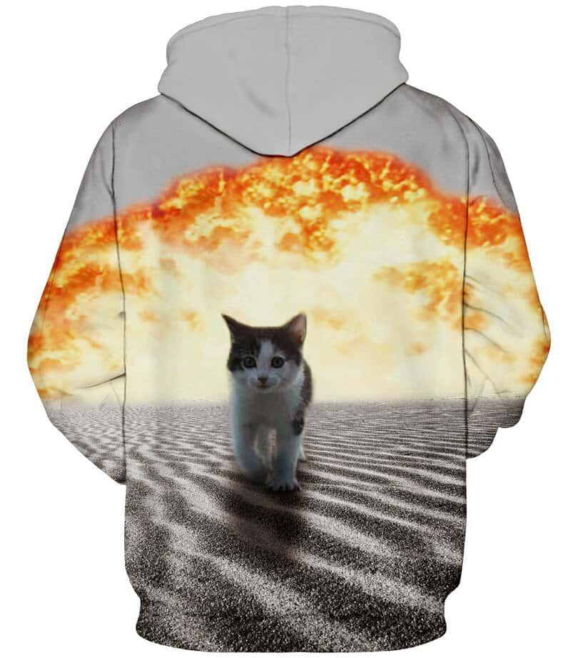 Cats and Explosions Hoodie