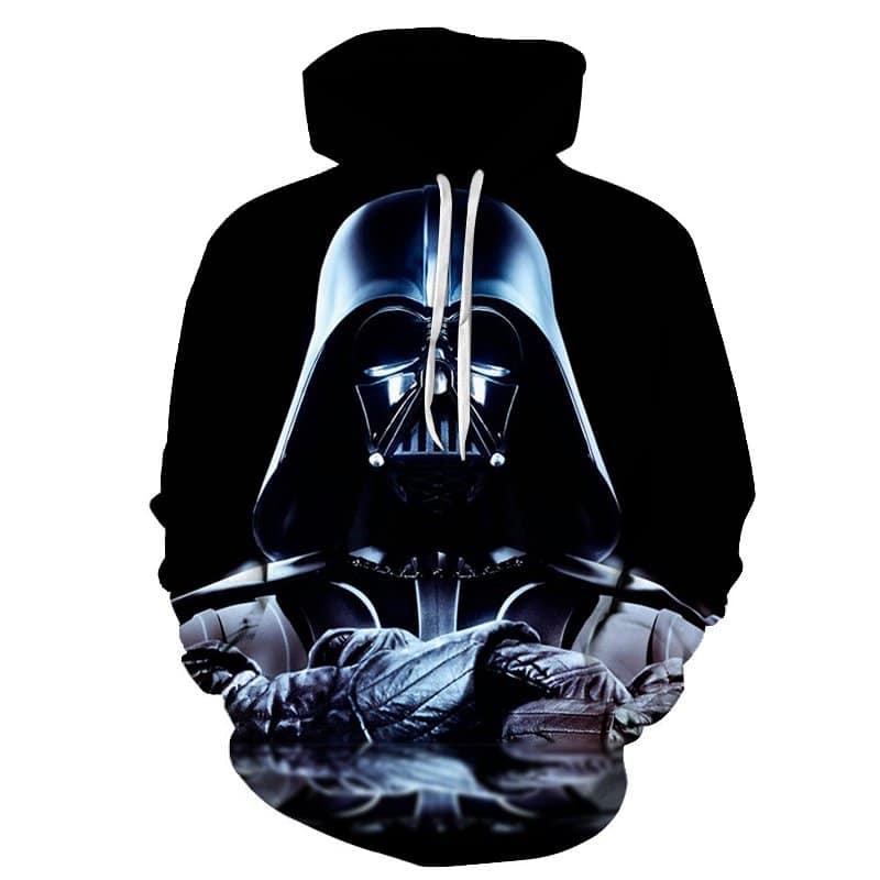 Chill Hoodies Darth Vader Hoodie Anakin Skywalker Starwars The Empire Black Unisex Adult Sweatshirt