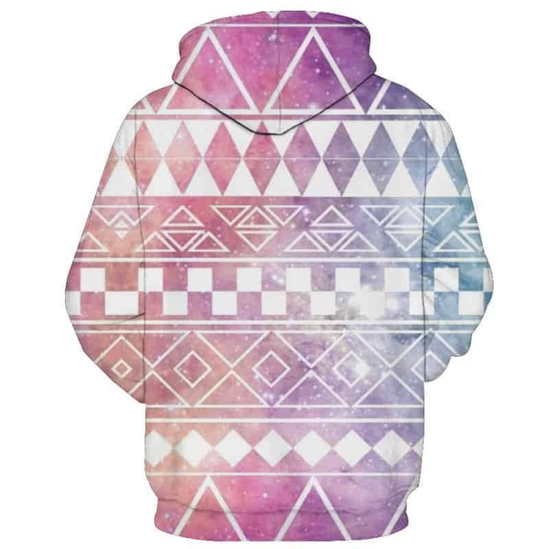 diamond checkers hoodie
