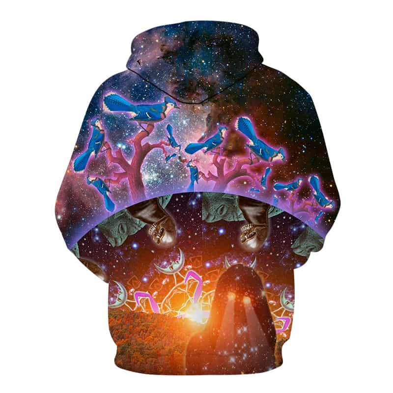 Chill Hoodies Sweatshirts Men Women Kids Adult Galaxy Ecosystem Hoodie Concept 1