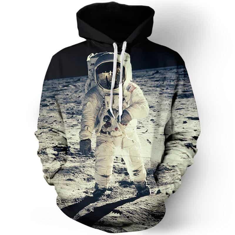 Chill Hoodies American Astronaut Hoodie Nasa Apollo 11 Unisex Adult Sweatshirt