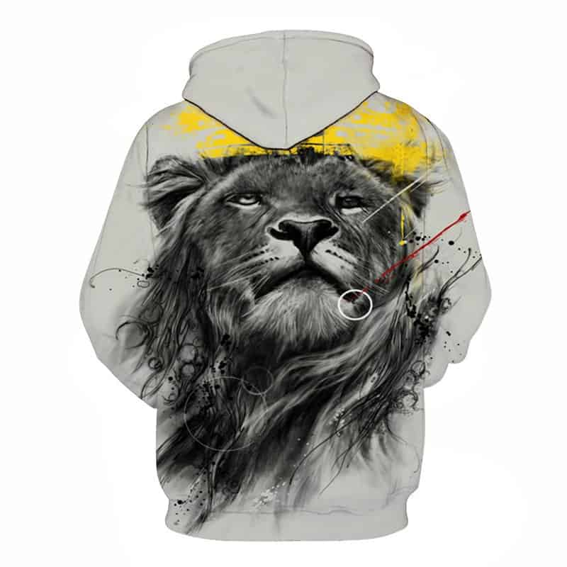 Chill Hoodies Sweatshirts Men Women Kids Adult Powerful King Lion Hoodie Concept 1