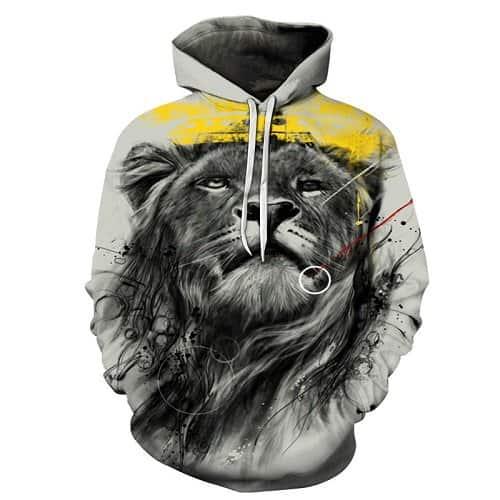 Chill Hoodies King Lion Hoodie Unisex Adult Sweatshirt