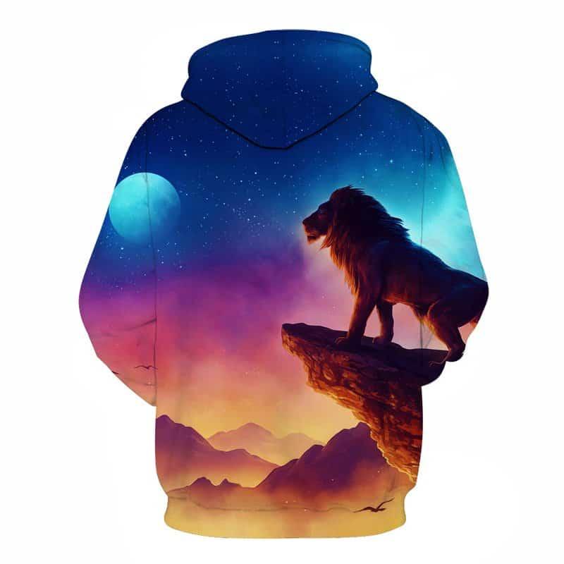 Chill Hoodies Sweatshirts Men Women Kids Adult Lion King Hoodie 1