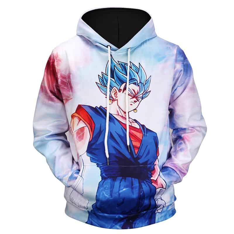 Chill Hoodies Goku Dragon Ball Z Hoodie White Unisex Adult Sweatshirt