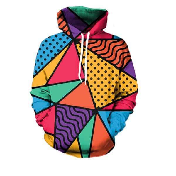 Chill Hoodies Modern Art Hoodie Unisex Adult Sweatshirt