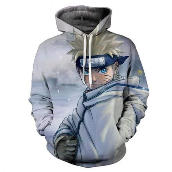 Chill Hoodies Naruto Sasuke Hoodie Anime Ninja Unisex Adult Sweatshirt