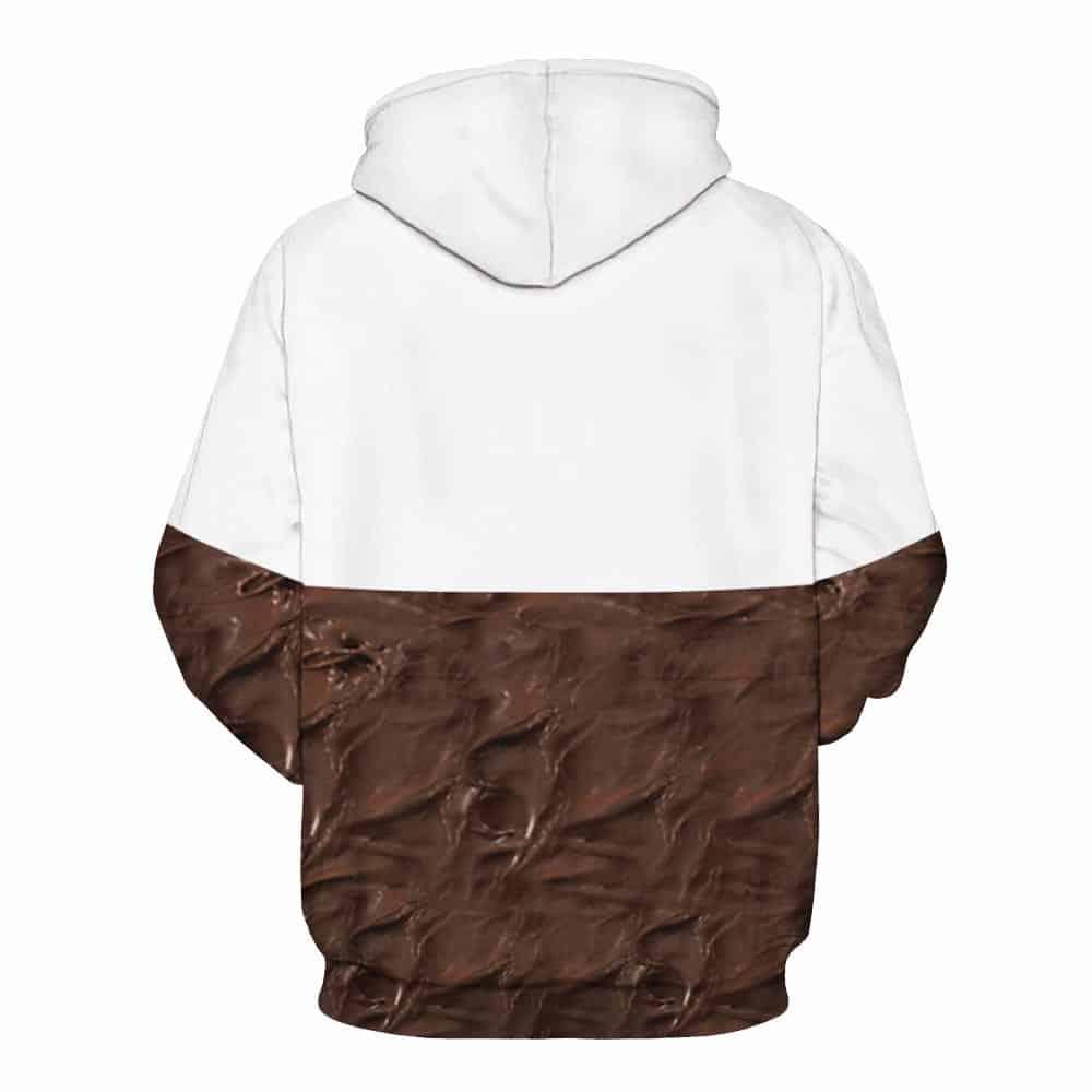 nutella hoodie back