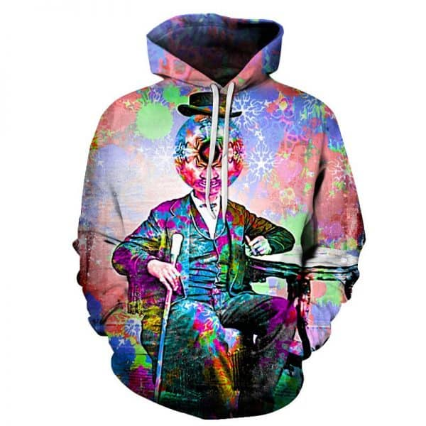 Chill Hoodies Psychedelic Experience Hoodie Unisex Adult Sweatshirt