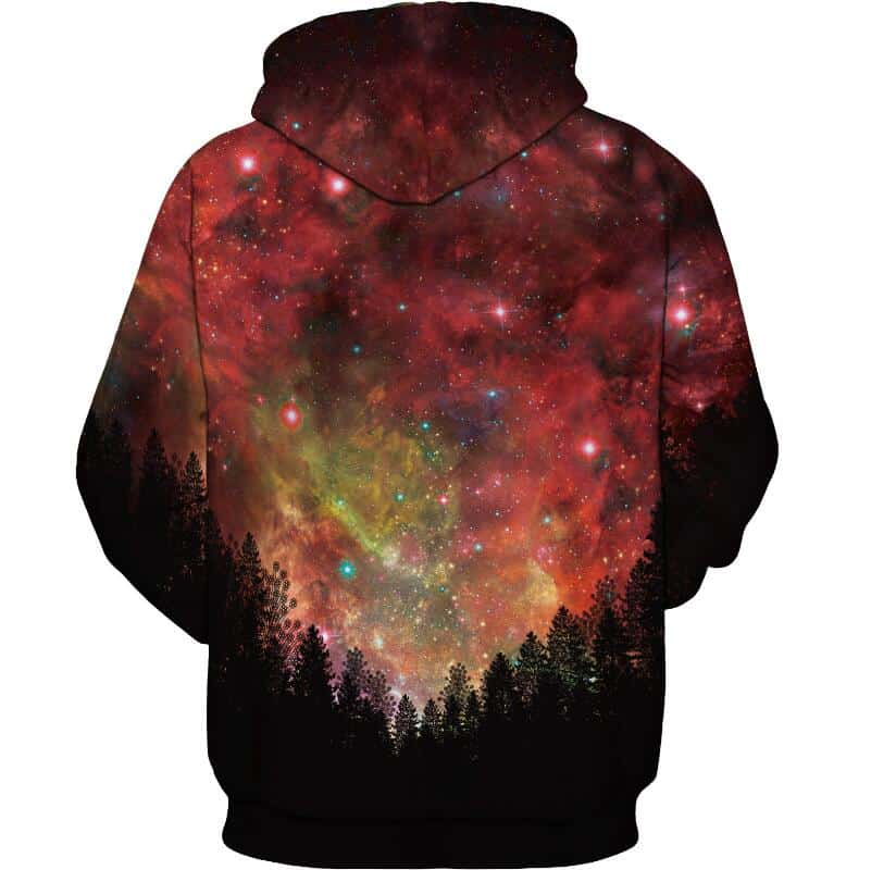 Chill Hoodies Sweatshirts Men Women Kids Adult Red Galaxy Hoodie 1