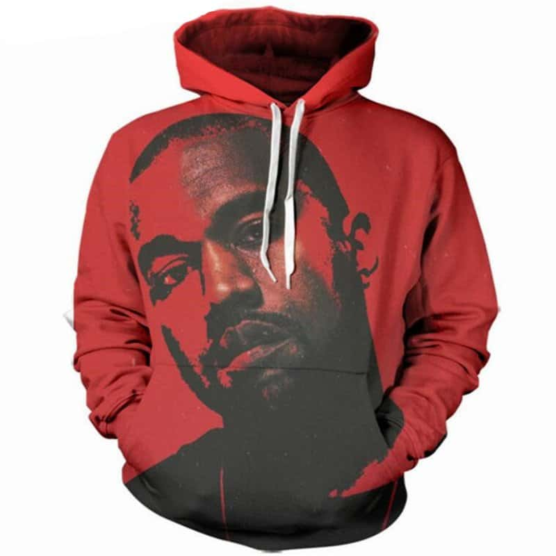 Chill Hoodies Red Kanye West Hoodie Hip Hop Yeezy Unisex Adult Sweatshirt