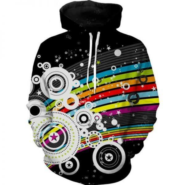 Chill Hoodies Retro Pattern Style Hoodie Guitar Hero Unisex Adult Sweatshirt