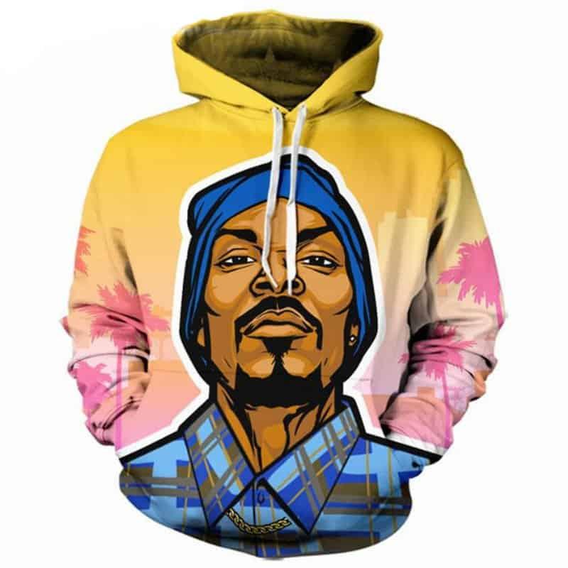 Chill Hoodies Snoop Dogg Hoodie Snoop Lion Hip Hop West Coast Unisex Adult Sweatshirt