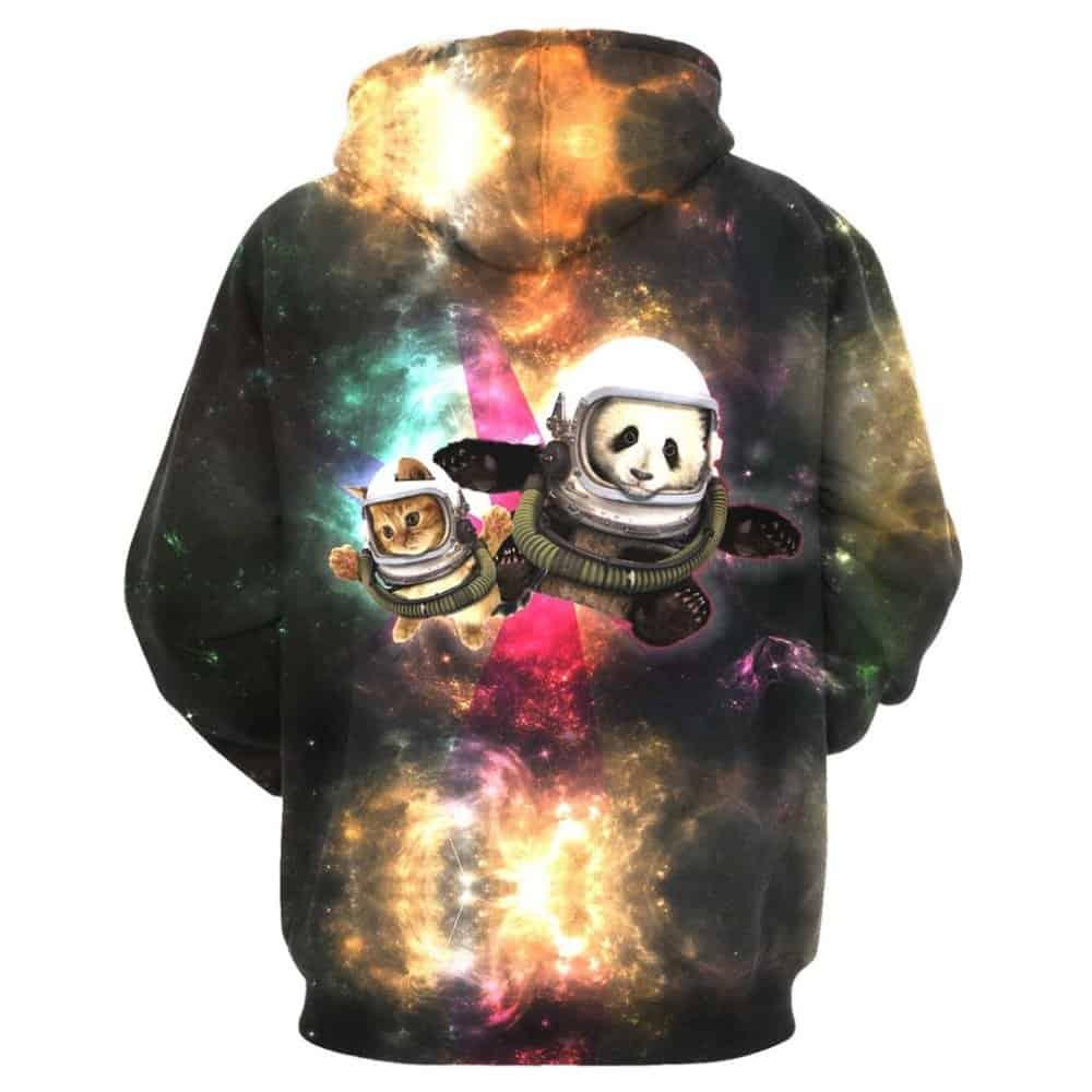 Chill Hoodies Sweatshirts Men Women Kids Adult Space Animals Hoodie Concept 1