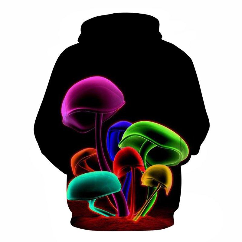 space shrooms hoodie