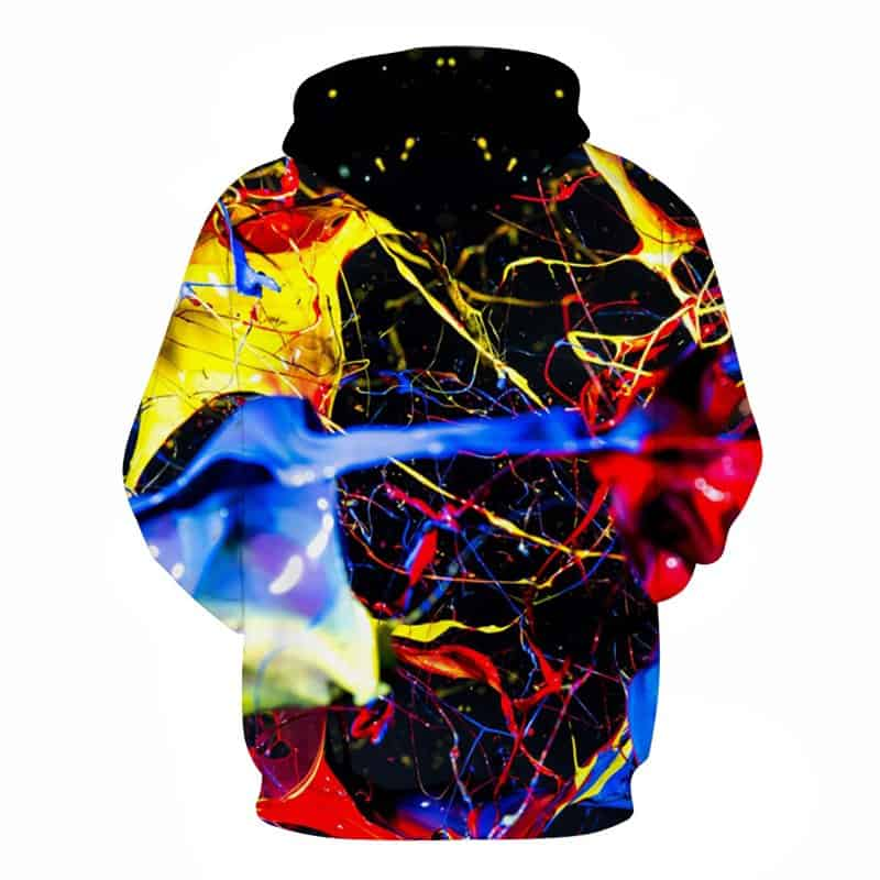 Chill Hoodies Sweatshirts Men Women Kids Adult Splashed Paint Hoodie 1