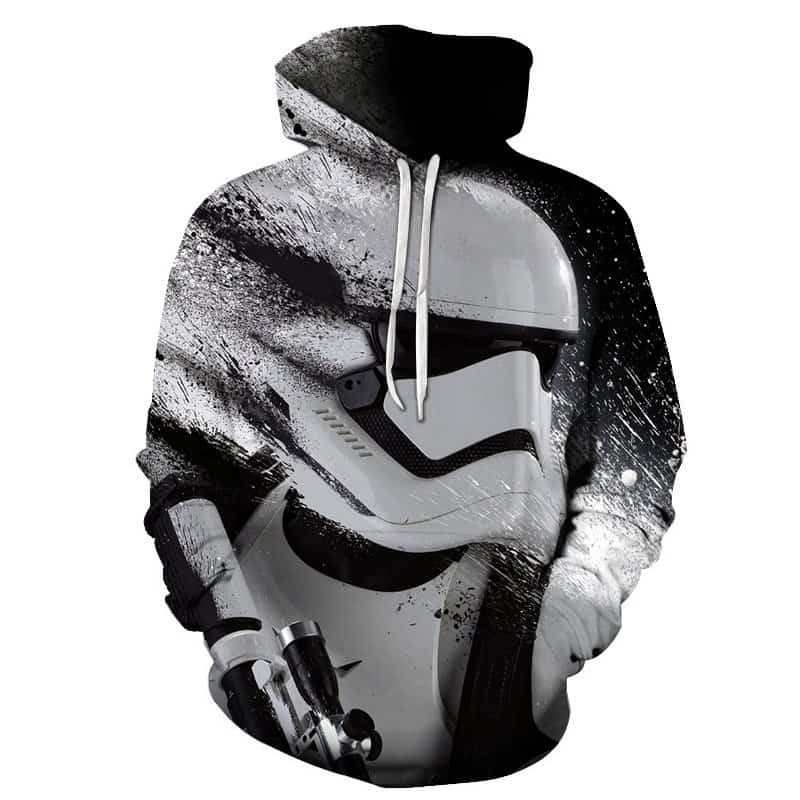 Chill Hoodies Disney First Order Stormtrooper Hoodie Starwars Clone Movie Franchise Unisex Adult Sweatshirt