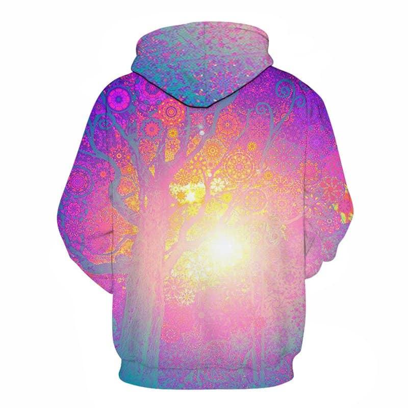 Chill Hoodies Sweatshirts Men Women Kids Adult Sun Tree Hoodie Concept 1
