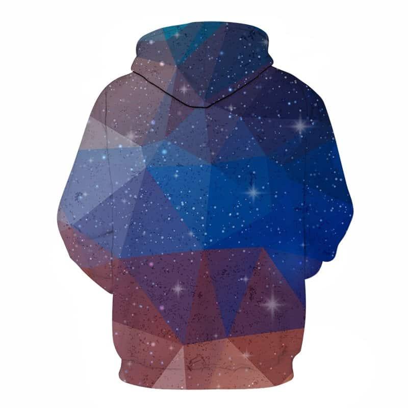 triangular star hoodie