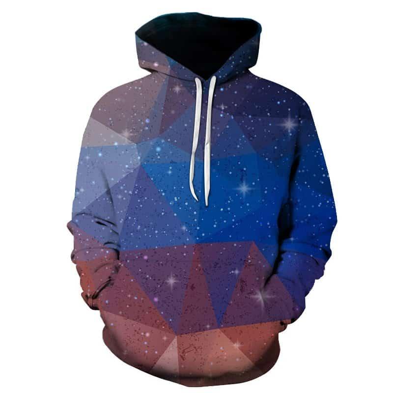 Chill Hoodies Triangular Star Hoodie Concept Unisex Adult Sweatshirt