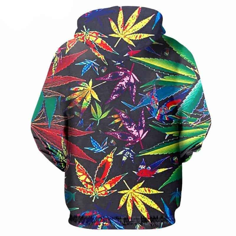 Chill Hoodies Sweatshirts Men Women Kids Adult Vibrant Cannabis Hoodie 1