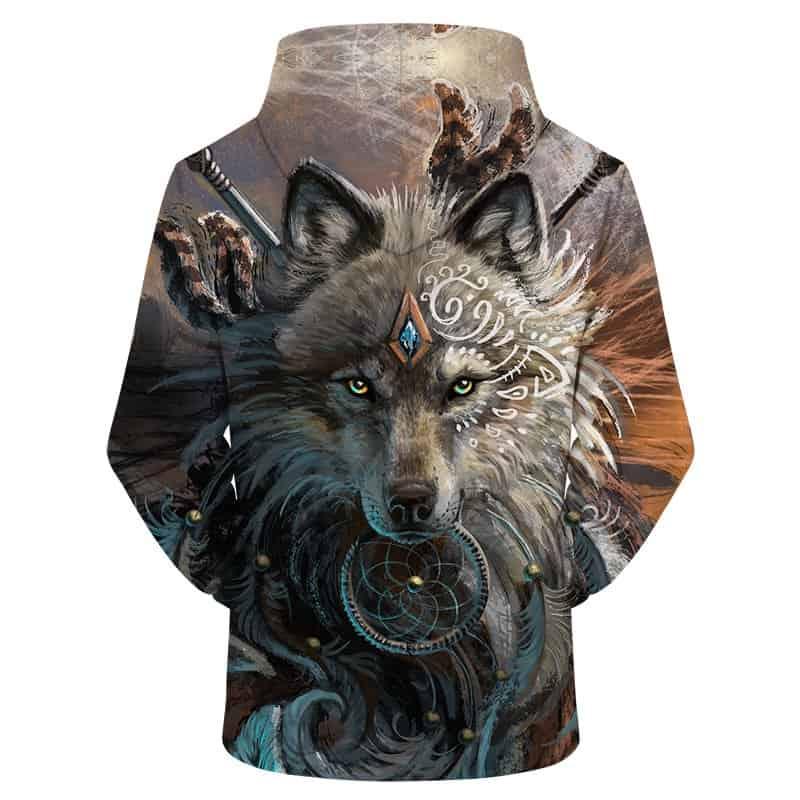 Chill Hoodies Sweatshirts Men Women Kids Adult Wolf Goddess Hoodie 1