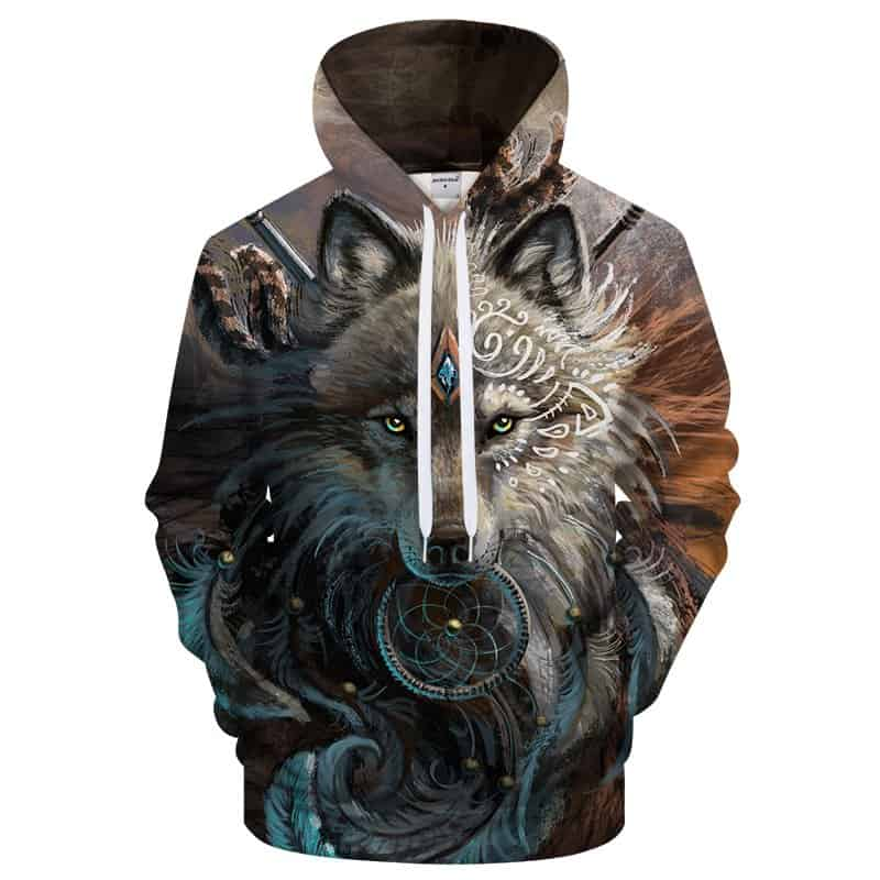 Chill Hoodies Wolf Goddess Hoodie Unisex Adult Sweatshirt