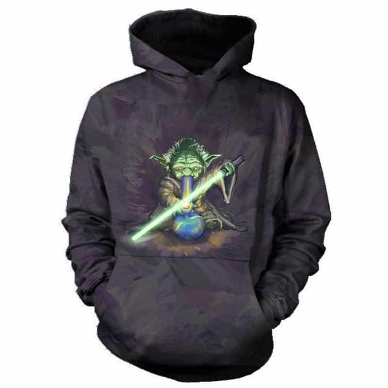 Chill Hoodies Yoda Hoodie Starwars Movie Franchise Unisex Adult Sweatshirt