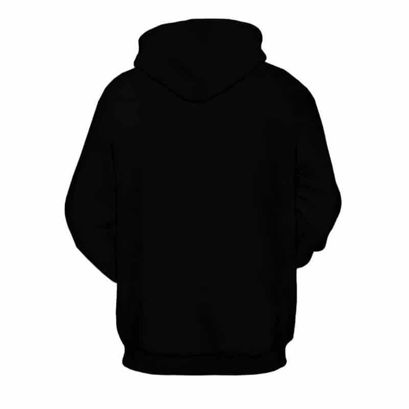dark panda hoodie
