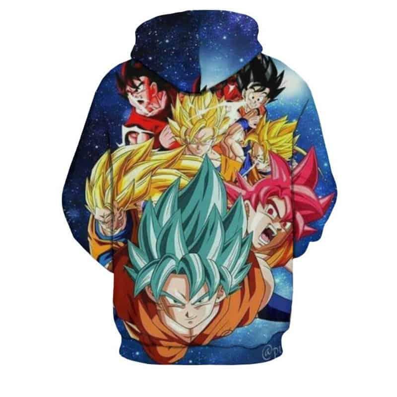 Chill Hoodies Sweatshirts Men Women Kids Adult Amazing Dragon Ball Z Hoodie 1