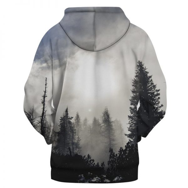 faded forest hoodie
