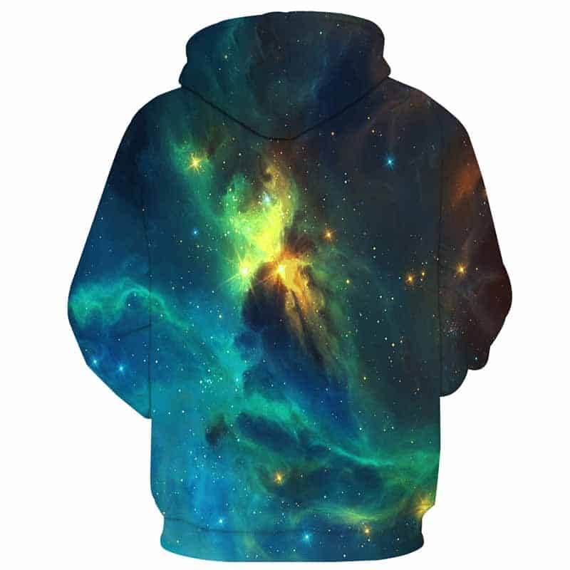 Chill Hoodies Green Space Hoodie