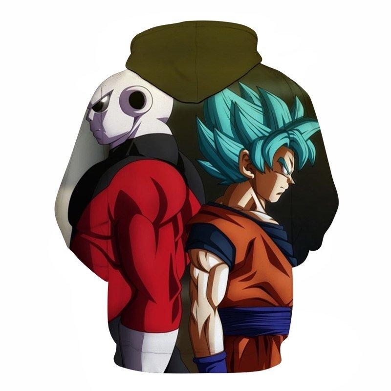 Green Dragon Ball Z Goku Hoodie