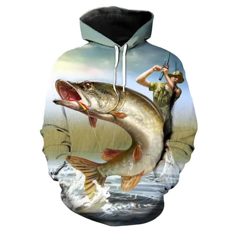 Chill Hoodies Fly Fishing Hoodie Unisex Adult Sweatshirt