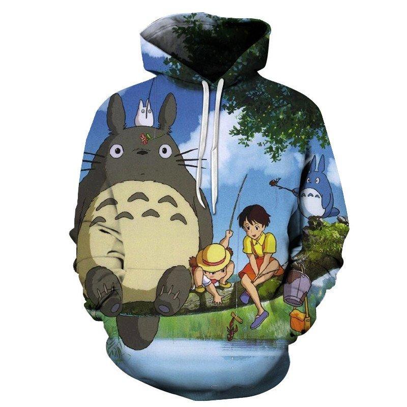 Chill Hoodies Vintage My Neighbour Totoro Hoodie Unisex Adult Sweatshirt