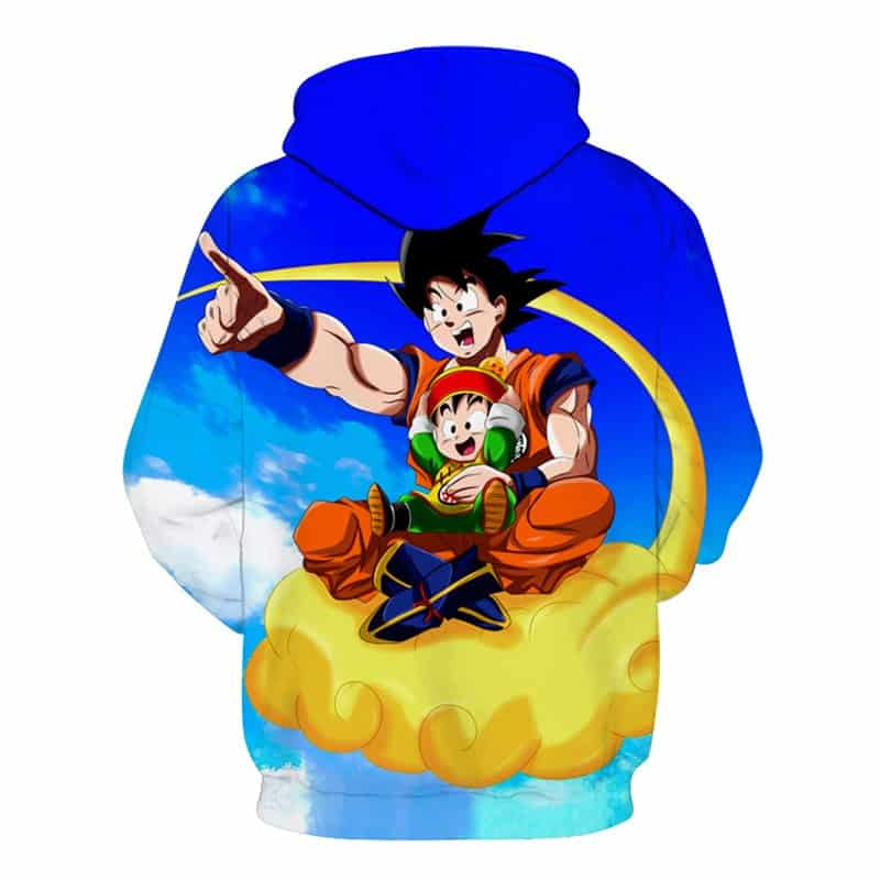 Goku Dragon Ball Z Flying Hoodie