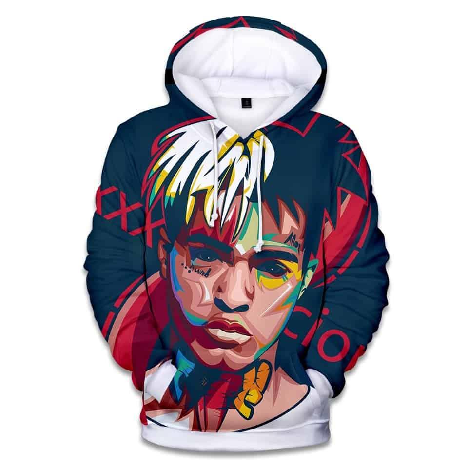 Chill Hoodies xxxtentacion Hoodie XXX Unisex Adult Sweatshirt