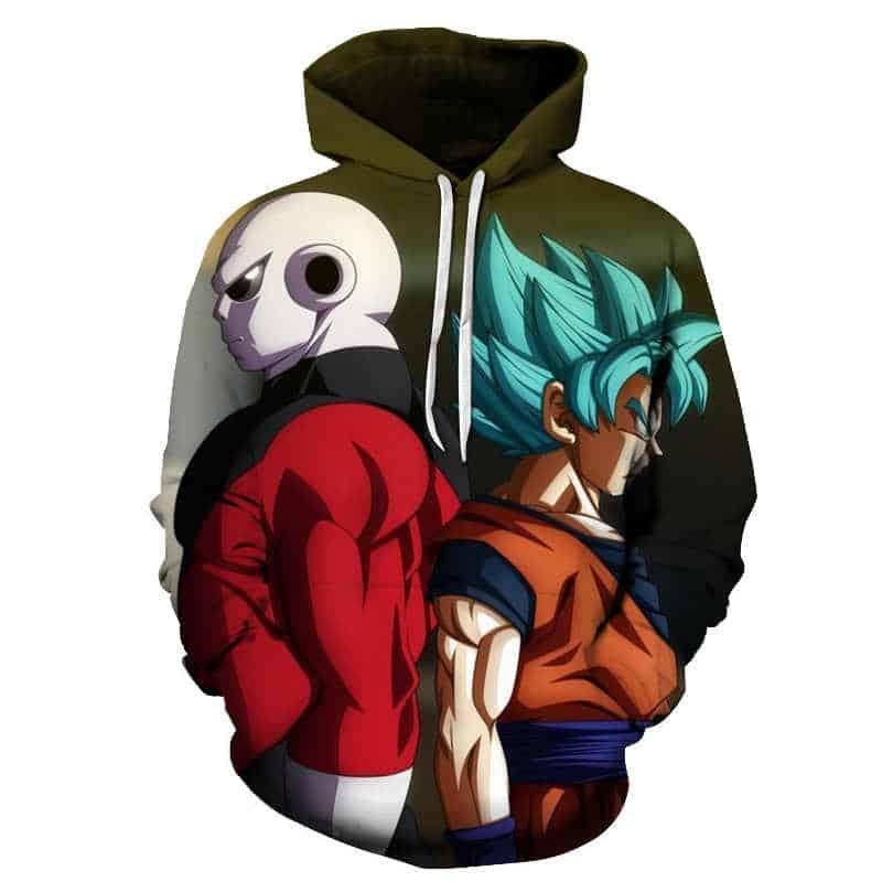 Chill Hoodies Green Dragon Ball Z Goku Hoodie Unisex Adult Sweatshirt