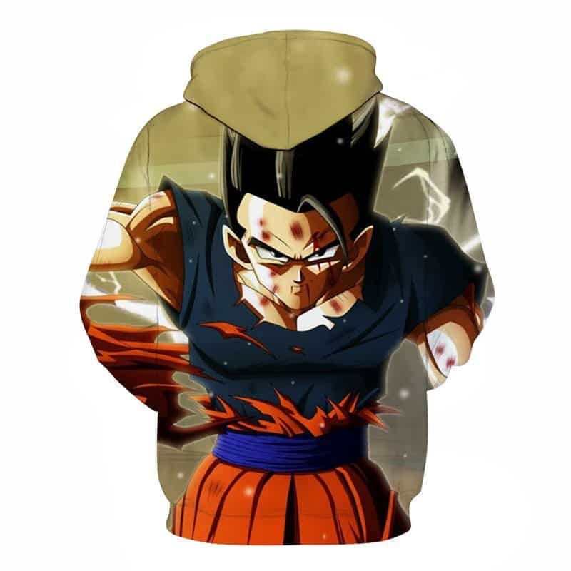 Battle Torn Goku Dragon Ball Z Hoodie