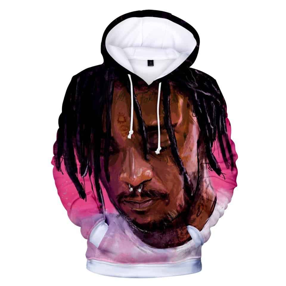 Chill Hoodies Lil Uzi Hip Hop Hoodie Lil Uzi Vert Luv Is Rage Unisex Adult Sweatshirt