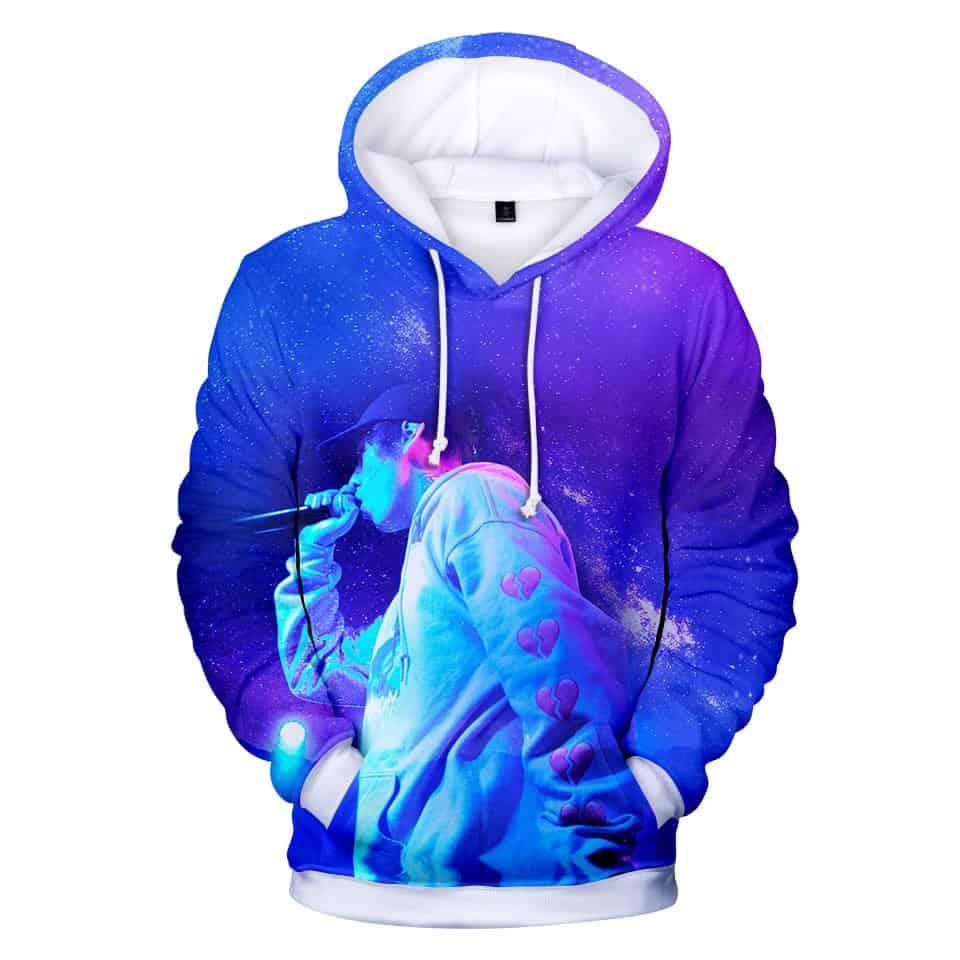 Chill Hoodies Lil Xan Concert Hoodie Performance Diego Unisex Adult Sweatshirt