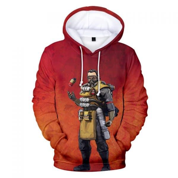 Chill Hoodies Caustic Apex Legends Scientist Hoodie Unisex Adult Children Sweatshirt